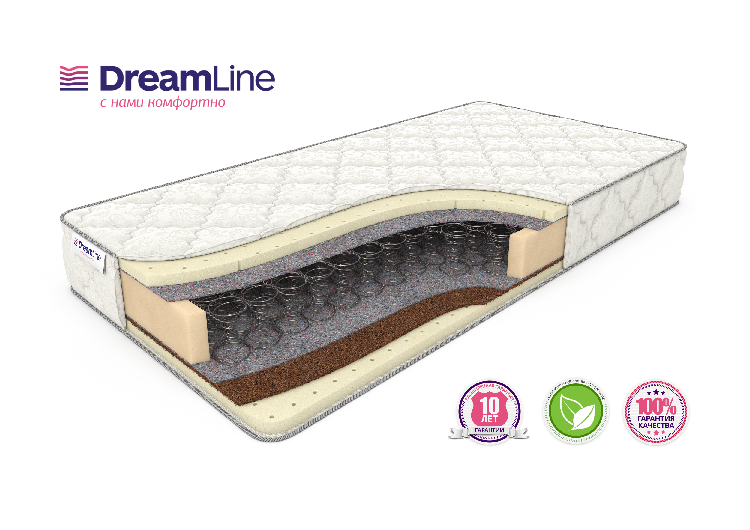 Матрас Dreamline SLEEPDREAM SOFT Bonnel